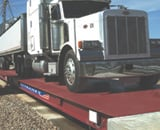 Fairbanks Titan Steel Deck Above Ground Truck Scale