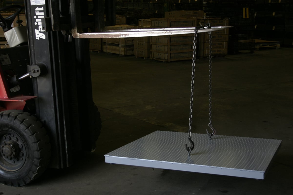 Aegis Industrial Mild Steel Floor Scales