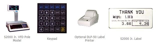 S2000 Jr Price Computing Scale