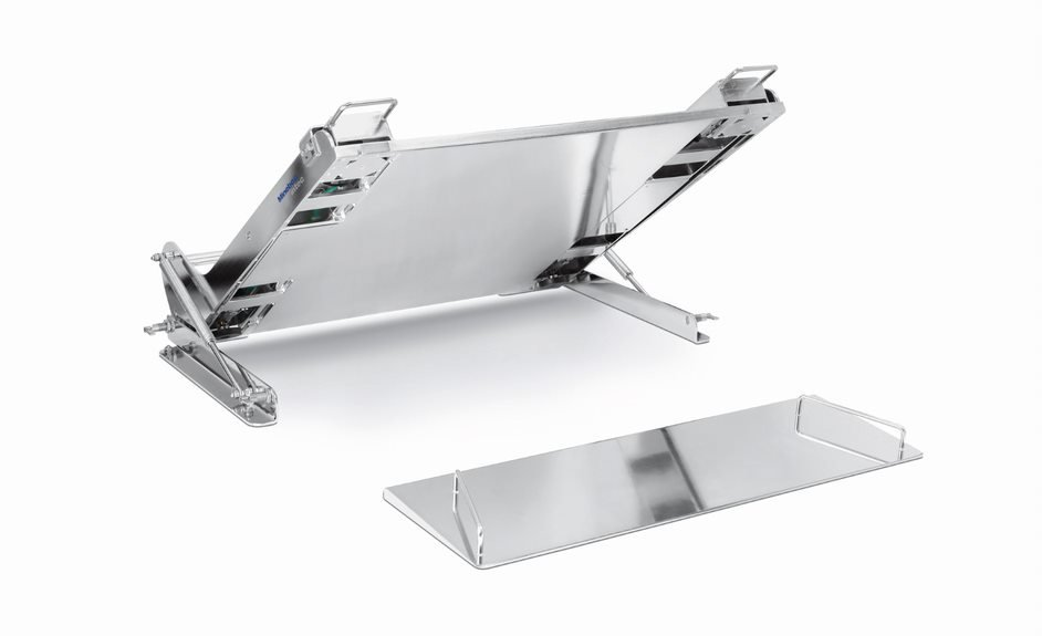 Minebea Intec IF Ex Stainless Steel Weighing Platforms Minebea Intec IF Series Floor Scales