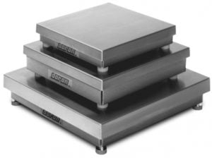 Doran DXL Series Stainless Steel Scale Bases