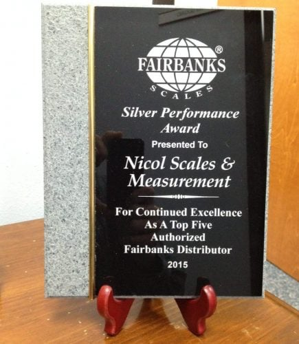 2015 Top 5 Fairbanks Distributor in North America!