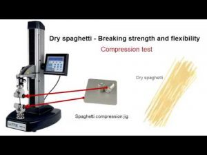 Compression Test Performed by TA1 Food Texture Analyzer Video