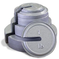slotted interlocking weights