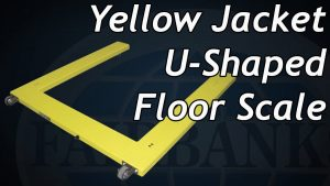 Fairbanks Yellow Jacket U-Shaped Floor Scale Video