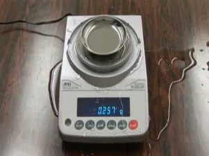 A&D Weighing FX-iWP Precision Balance Video