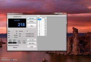Shimpo DT-2100 Tachometer Software Video