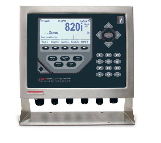 820i programmable weight indicator