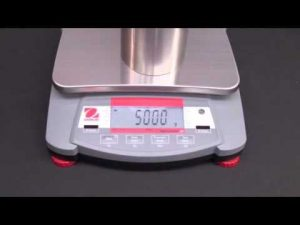 Ohaus Navigator Training - Operations: Span Calibration Video