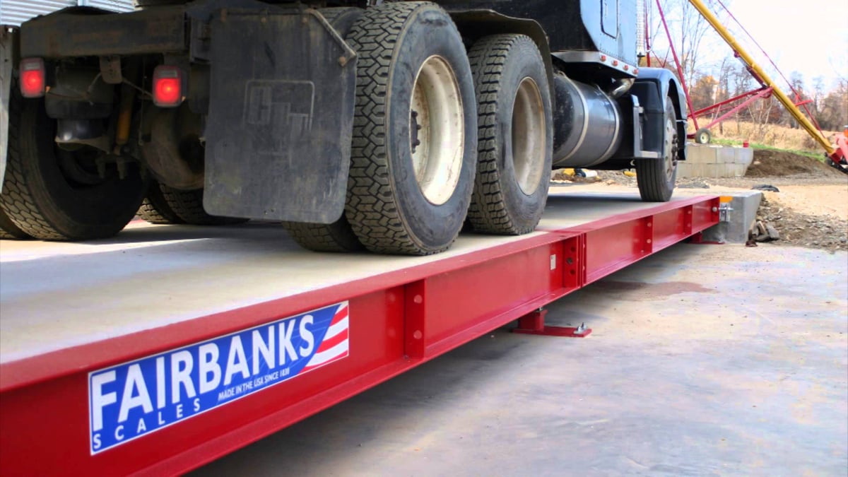 Fairbanks Trident Factory Pour Truck Scale Video