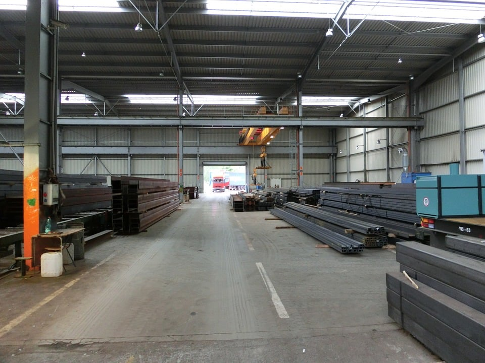 Steel Processing Warehouse