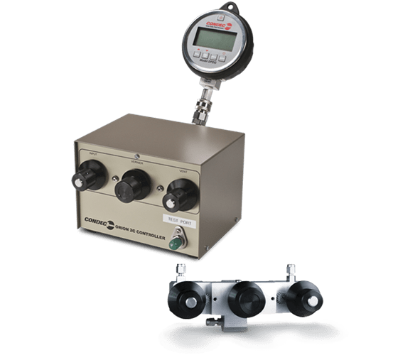 Rice Lake Condec Orion 2C/Orion 3A Precision Pneumatic Controllers