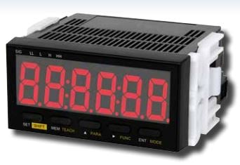 Shimpo DT-501X Panel Meter Tachometer