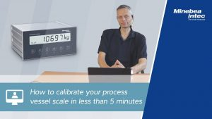 How to Calibrate your process vessel scale video