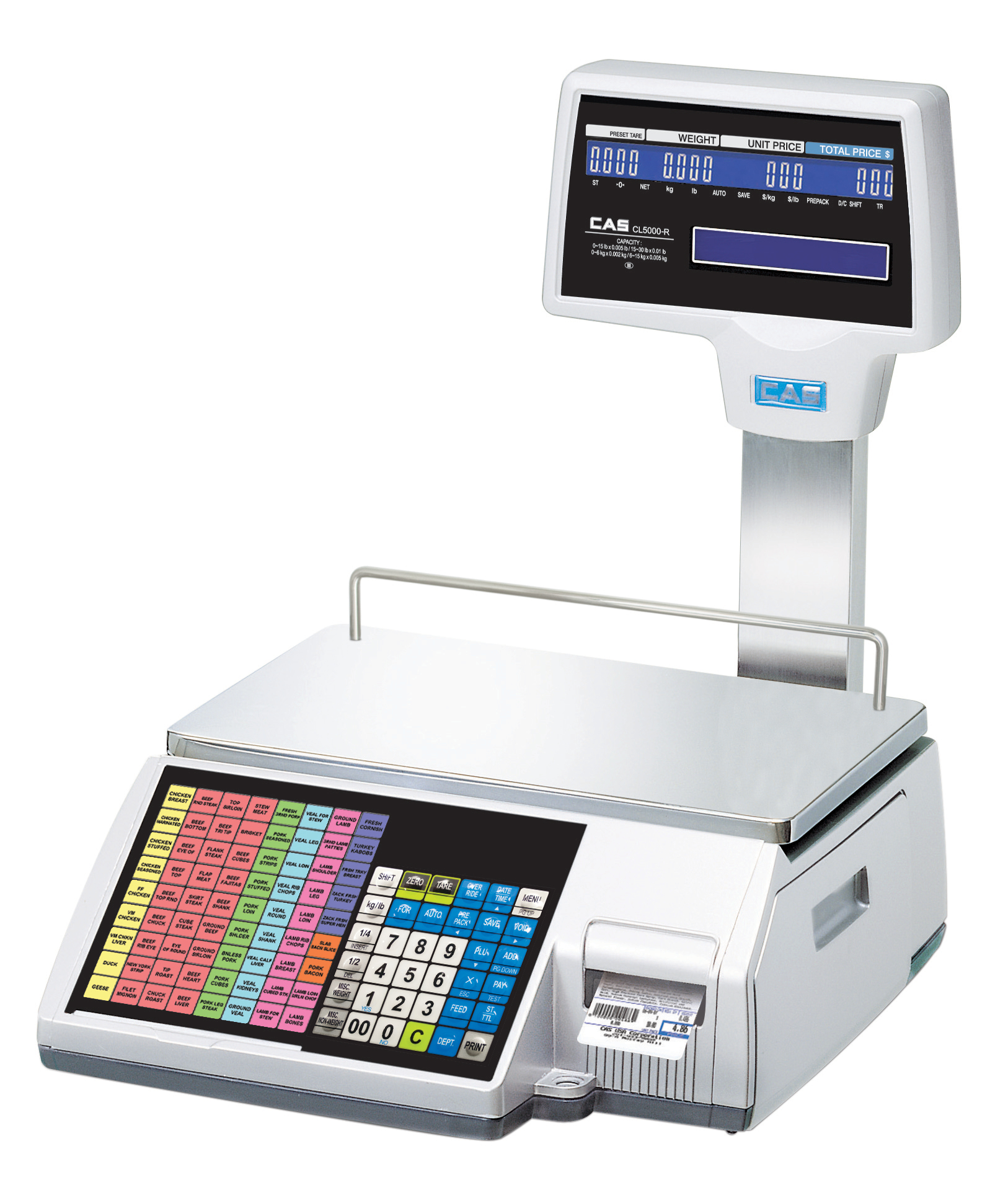 CAS CL5500 Label Printing Scale