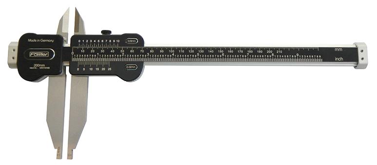 "Fowler 19""/500mm Light Line Vernier Caliper 52-075-018-0"