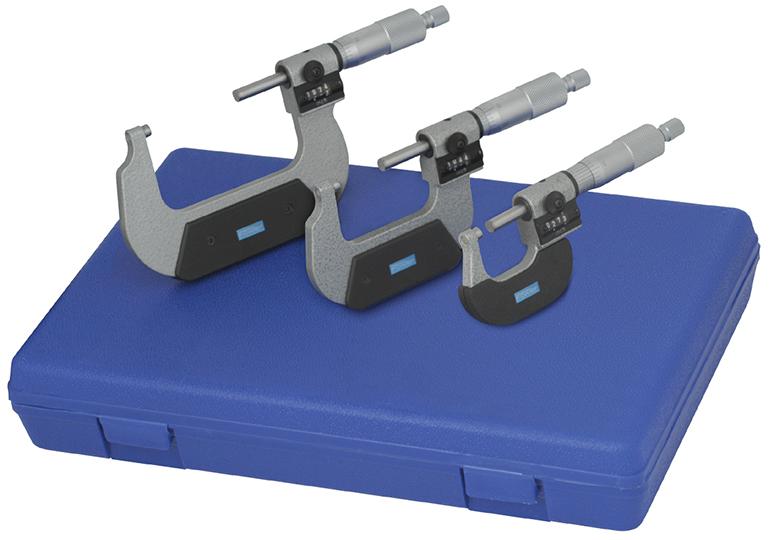 0-75mm Digit Counter Micrometer Set 52-224-220-0