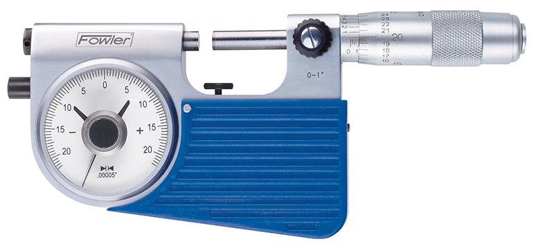 """Fowler 0-1"""" Indi-X Indicating Micrometer 52-245-501-0"""