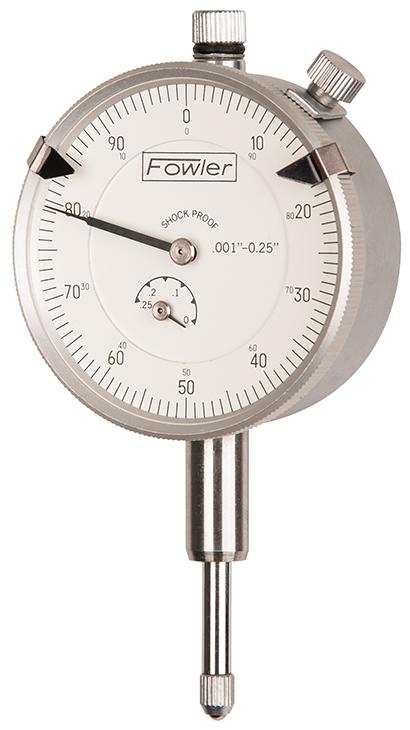 """Fowler 0.250"""" Dial Indicator 52-520-100-0"""