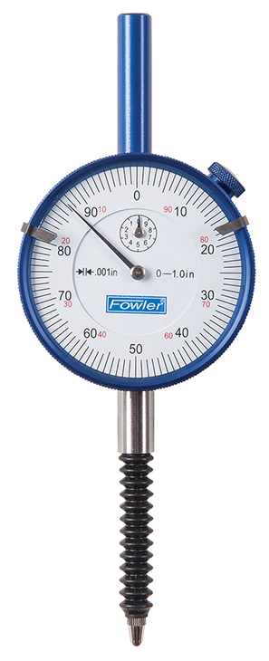 Fowler Premium IP54 Shockproof Whiteface Dial Indicator 52-520-460-0