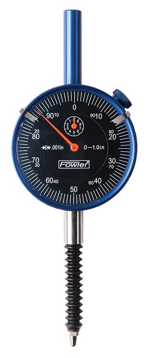 Fowler Premium IP54 Shockproof Blackface Dial Indicator 52-520-465-0