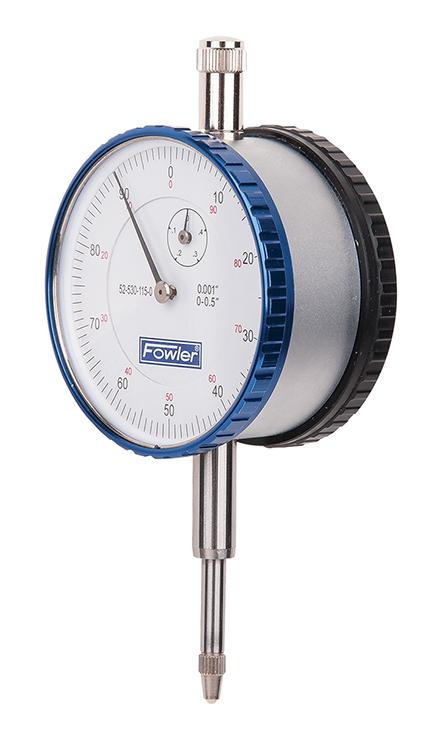 Fowler Dual PLUS Dial Indicator 52-530-115-0