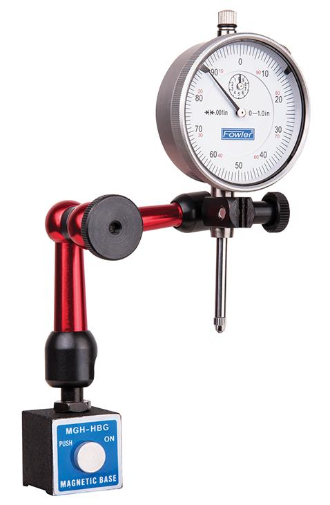 Fowler X-Lock Locking-Arm Mag Base and Indicator Set 52-588-030-0