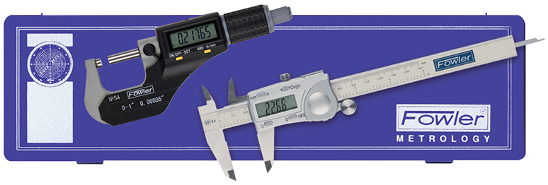 Fowler X-Proof Water Resistant Electronic Measuring Set 74-004-877-0