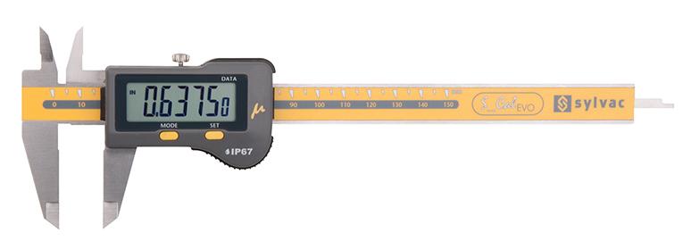 """Fowler Micron 0.00005"""" BLUETOOTH Electronic Caliper 54-100-100-0"""