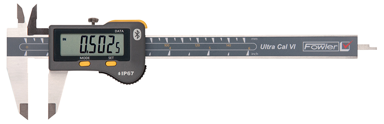 "Fowler 12""/300mm Ultra-Cal VI Electronic Caliper - Bluetooth with Lifetime Warranty 54-100-169-0"