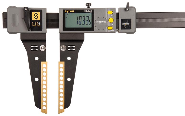 "Fowler-Sylvac 0-24""/0-600mm BLUETOOTH Ultralight IV Electronic Caliper 54-110-524-0"
