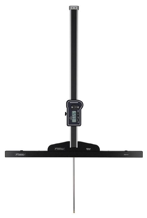 """Fowler 0-31""""/0-800mm Light-Line Digital Depth Gage with Adjustable Base 54-136-535-0"""