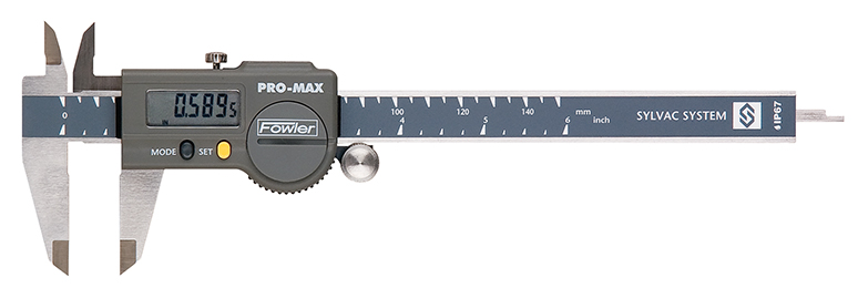 "Fowler 6""/150mm Pro-Max Electronic Caliper 54-200-777-1"