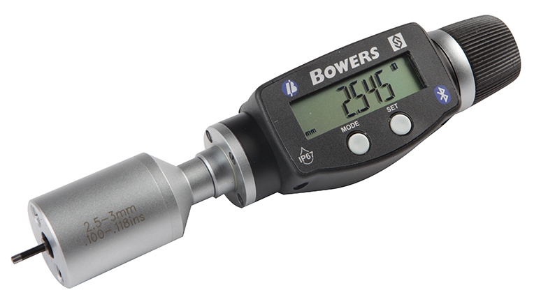 "Fowler-Bowers 0.080"" - 0.100""/2 - 2.5mm BLUETOOTH XTD3 Electronic Holemike 54-367-003-BT"