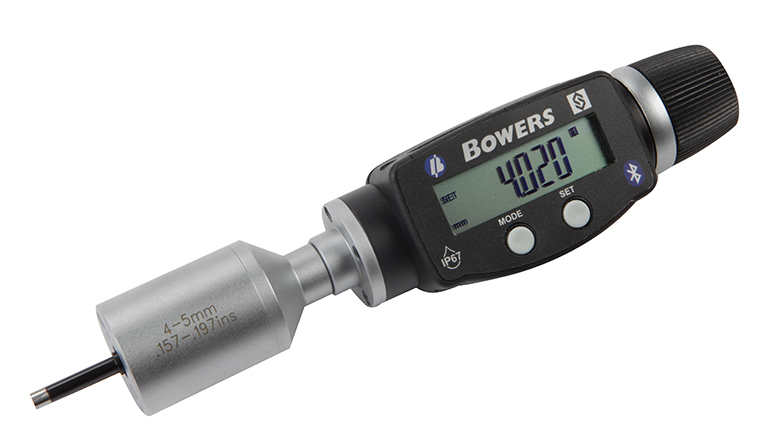 "Fowler-Bowers 0.160"" - 0.200""/4 - 5mm BLUETOOTH XTD3 Electronic Holemike 54-367-006-BT"