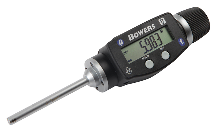 "Fowler-Bowers 0.250"" - 0.312""/6 - 8mm BLUETOOTH XTD3 Electronic Holemike 54-367-008-BT"