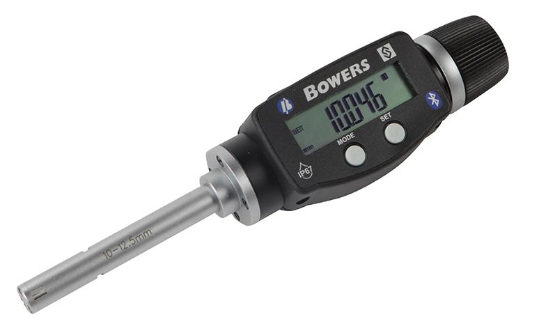 "0.375"" - 0.500""/10 - 12.5mm BLUETOOTH XTD3 Electronic Holemike 54-367-012-BT"