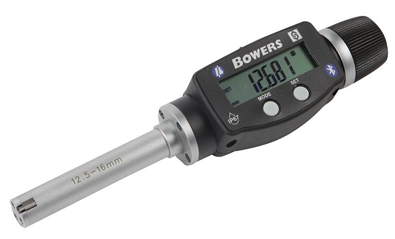 "0.500"" - 0.625""/12.5 - 16mm BLUETOOTH XTD3 Electronic Holemike 54-367-014-BT"