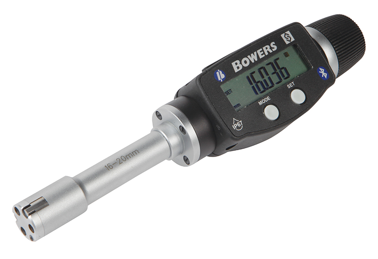 "0.625"" - 0.750""/16 - 20mm BLUETOOTH XTD3 Electronic Holemike 54-367-016-BT"