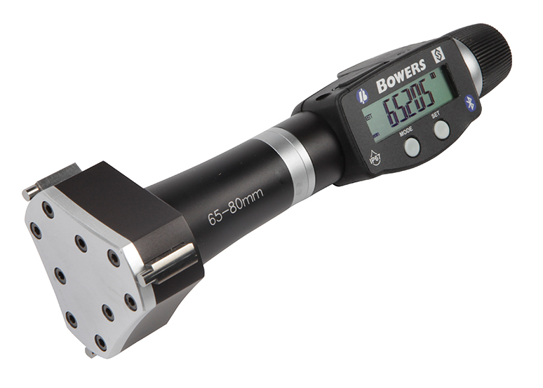 "2.625"" - 3.250""/65 - 80mm BLUETOOTH XTD3 Electronic Holemike 54-367-026-BT"