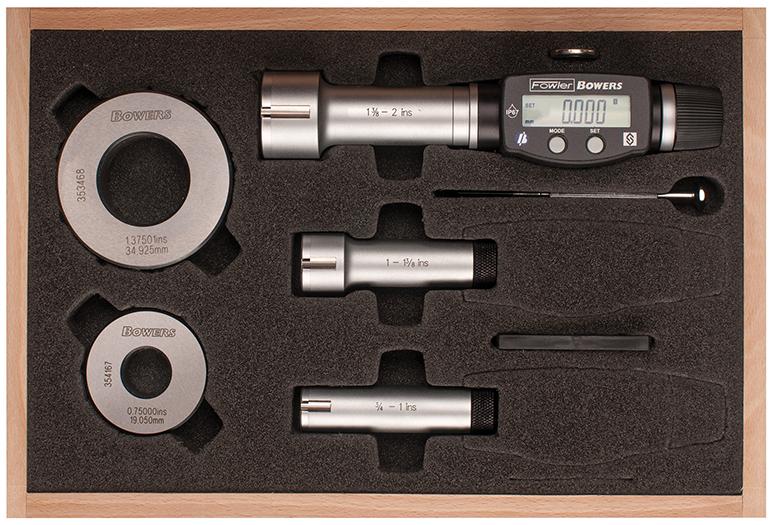 """4"""" - 8""""/100 - 200mm XTD3 Electronic Holemike Set 54-367-200-0"""
