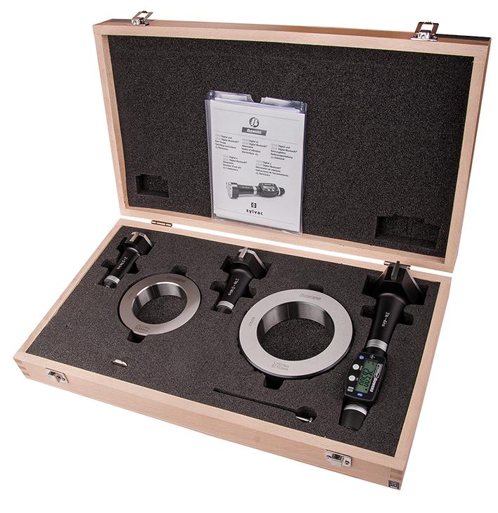 "4"" - 8""/150 - 200mm BLUETOOTH XTD3 Electronic Holemike Set 54-367-200-BT"