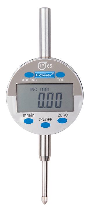 "Fowler Indi-X Blue 1""/25mm IP65 Electronic Indicator 54-520-265-0"