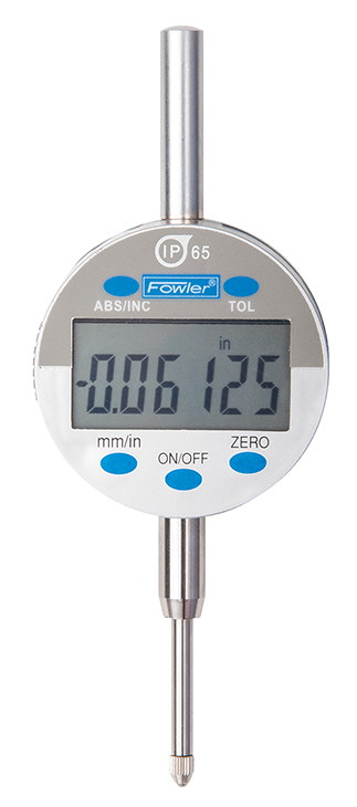 "Fowler Indi-X Blue 1""/25mm IP65 HIGH Resolution Electronic Indicator 54-520-270-0"