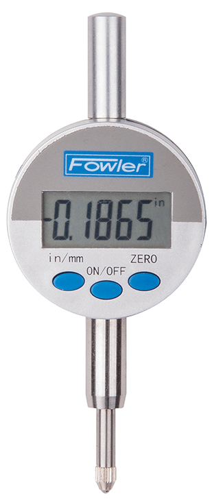 "Fowler Indi-X Blue 0 - 0.50""/0 - 12.5mm Small Face Electronic Indicator 54-520-275-0"