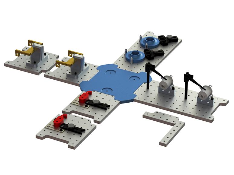 zCAT Loc-N-Load Quick-Swap Fixture System 54-950-175-0