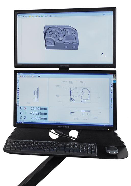 FUSION CMM Dual Monitor, DUAL-MON