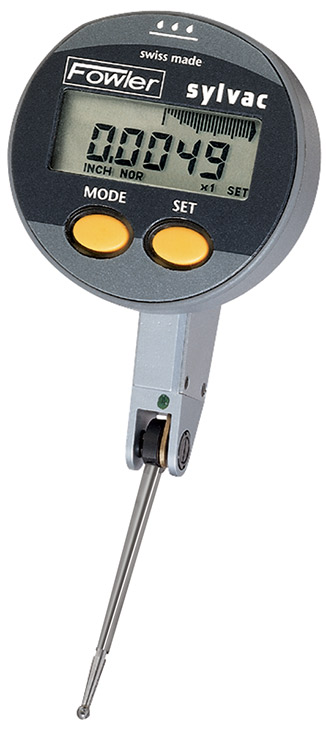 "Fowler 0.020""/0.5mm QuadraTest Multimode Electronic Test Indicator 54-562-888-0"