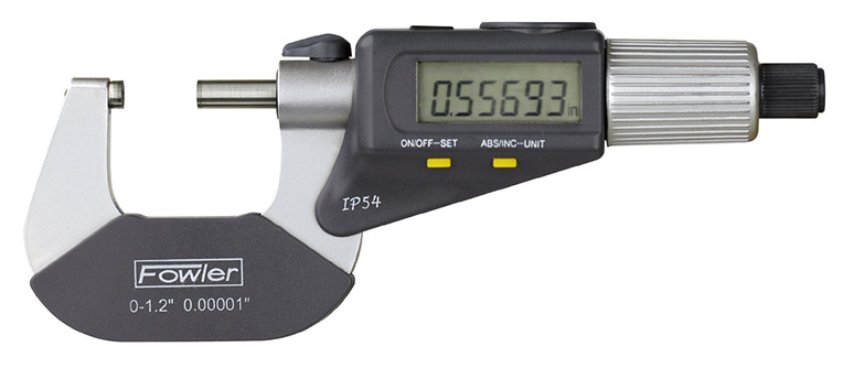 "0-1""/0-25mm QuadraMic Electronic 4-Way Reading Micrometer 54-866-001-0"