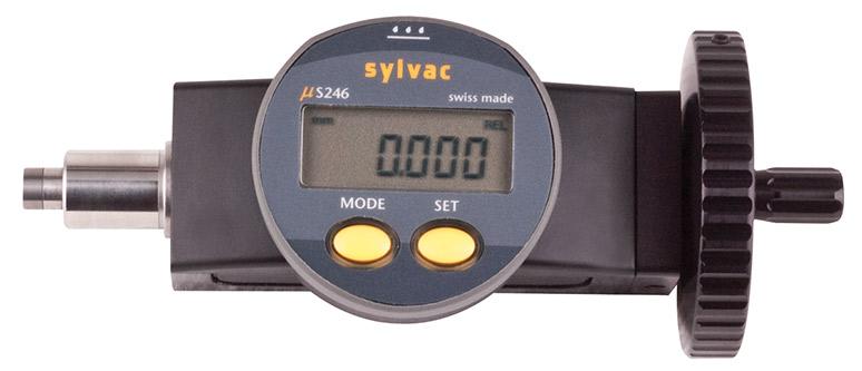 """Fowler 0-1""""/25mm Digital Micrometer Head 54-210-100-0"""